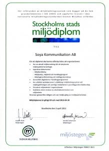 miljodiplom-2012